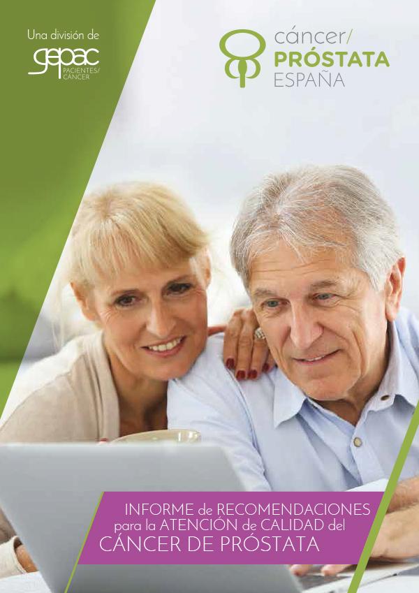 Guía de cáncer de próstata para pacientes y familiares