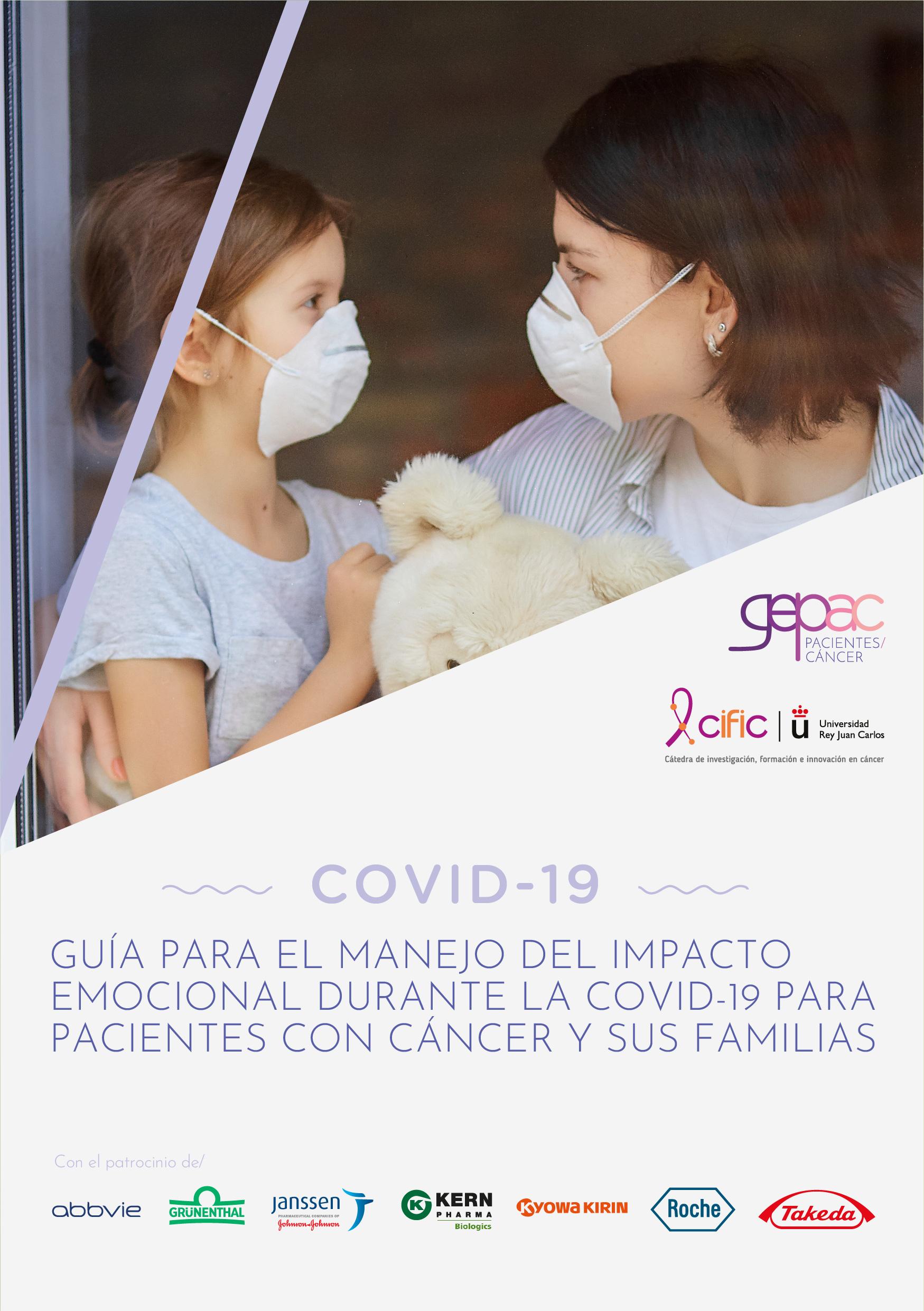 Guía para el manejo del impacto emocional durante la COVID-19 para pacientes con cáncer y sus familias