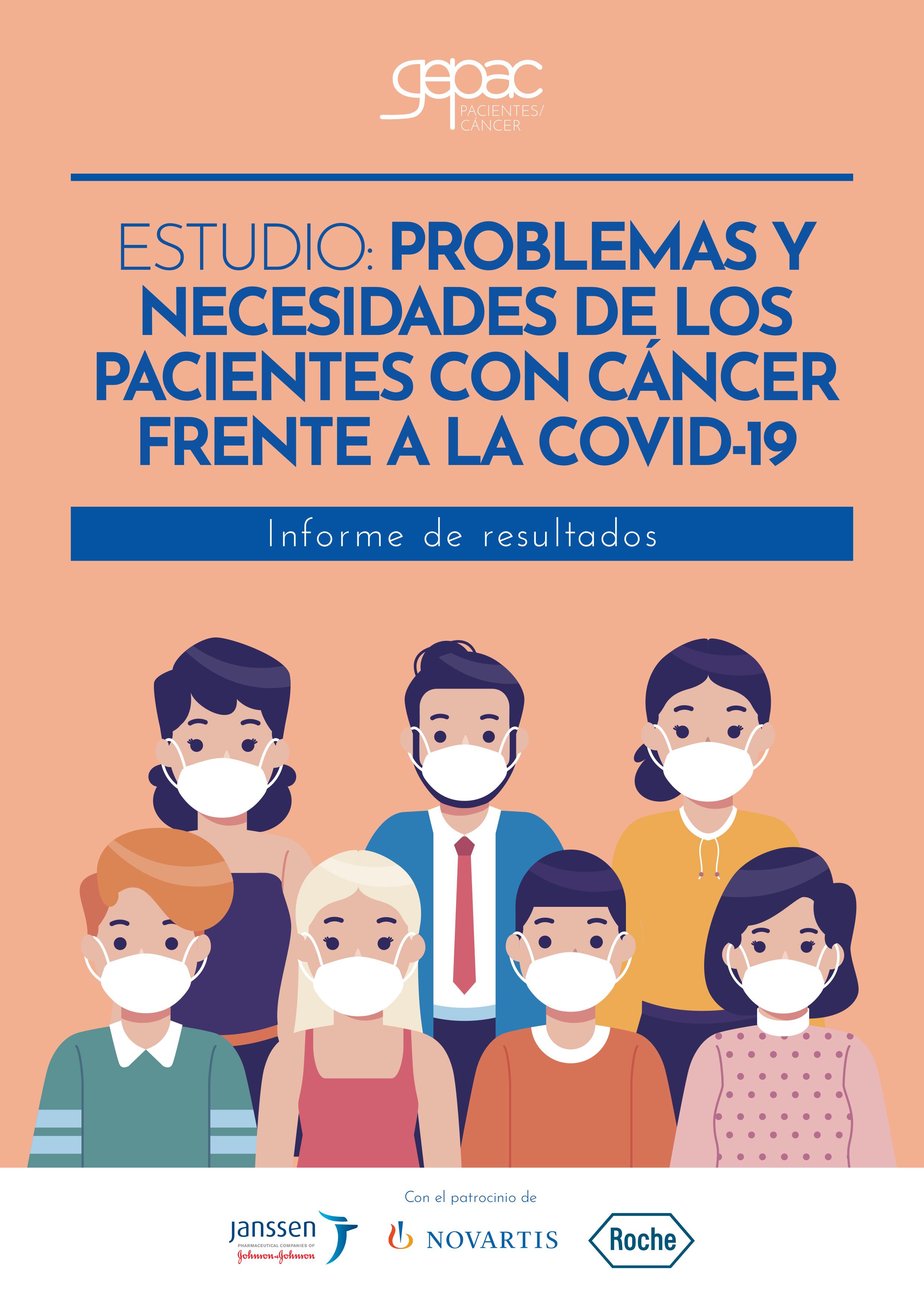 Problemas y necesidades de los pacientes con cáncer frente a la COVID-19